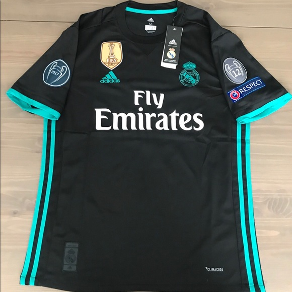 buy online a8d2a ccca6 Real Madrid black Ronaldo #7 Soccer Jersey NWT